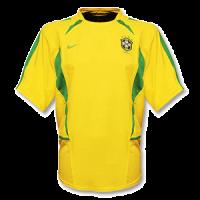 Brazil Retro Soccer Jersey Home Replica World Cup 2002