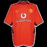 Manchester United Soccer Jersey Home Retro Replica 2002/03