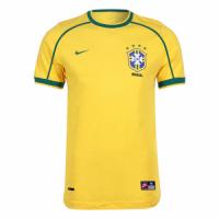 Brazil Retro Soccer Jersey Home Replica World Cup 1998