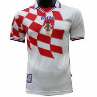 Croatia Retro Soccer Jersey Home Replica World Cup 1998