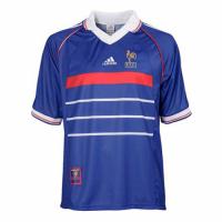 France Retro Soccer Jersey Home Replica World Cup 1998
