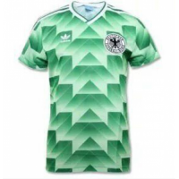 West Germany Retro Soccer Jersey Away Replica World Cup 1990