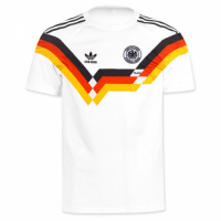 West Germany Retro Soccer Jersey Home Replica World Cup 1990