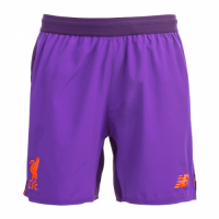 the best attitude afa4b 8e98b 18-19 Liverpool Away Purple Long Sleeve Long Sleeve Soccer Jersey  Kit(Shirt+Short)
