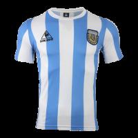 Argentina Retro Soccer Jersey Home Replica World Cup 1986