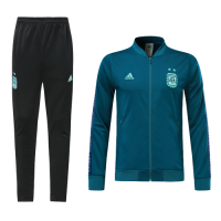 2019 Argentina Blue V-Neck Training Kit(Jacket+Trousers)
