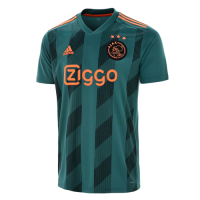 f299fad0980 19-20 Ajax Away Green Soccer Jersey.