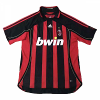 AC Milan Soccer Jersey Home Retro Replica 2006/07