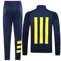 19/20 Arsenal Navy High Neck Collar Player Version Training Kit(Jacket+Trouser)