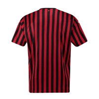 19-20 AC Milan Home Black&Red Soccer Jerseys Shirt