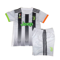19/20 Juventus X Palace Home White Children's Jerseys Kit(Shirt+Short)