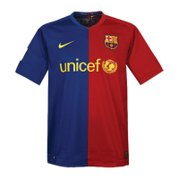 08/09 Barcelona Home Red&Blue Retro Soccer Jerseys Shirt