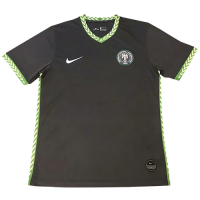 2020 Nigeria Away Dark Gray Soccer Jerseys Shirt