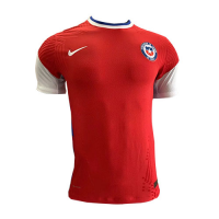2020 Chile Away White Soccer Jersey Shirt(Player Version)
