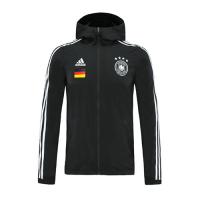 2020 Germany Black Hoody Woven Windrunner
