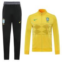 2020 Brazil High Neck Collar Training Kit(Jacket+Trouser)