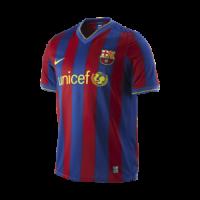 Barcelona Soccer Jersey Home Retro Replica 2009/10
