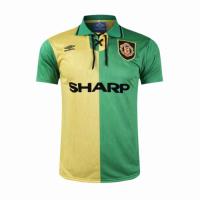 Manchester United Soccer Jersey Away Retro Replica 1992/94