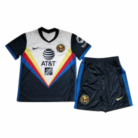 20/21 Club America Away White Children's Jerseys Kit(Shirt+Short)