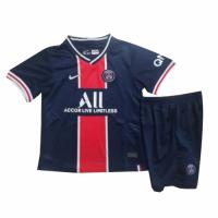 PSG Kids Soccer Jersey Home Kit (Shirt+Short) 2020/21