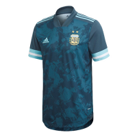 2020 Argentina Away Dark Green Soccer Jerseys Shirt