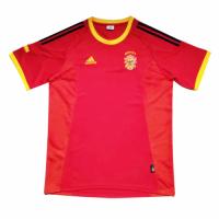 Spain Retro Soccer Jersey Home Replica World Cup 2002