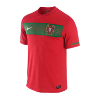2010 World Cup Portugal Home Red Retro Jerseys Shirt