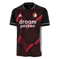20/21 Feyenoord Away Red&Black Jerseys Shirt