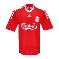 Liverpool Retro Soccer Jersey Home Replica 2008/09
