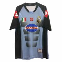 Juventus Retro Soccer Jersey Goalkeeper Blue&Black Replica 2002/03