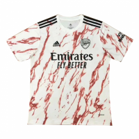 20/21 Arsenal Away White Soccer Jerseys Shirt