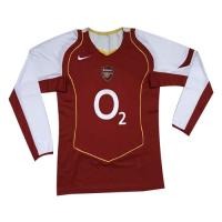Arsenal Soccer Jersey Home Long Sleeve Retro Replica 2004/05