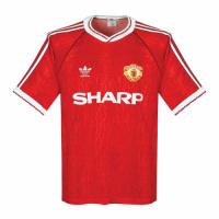 Manchester United Retro Soccer Jersey Home Replica 1990/92