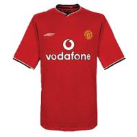 Manchester United Retro Soccer Jersey Home Replica 2000/02