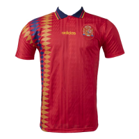 Spain Retro Soccer Jersey Home Replica World Cup 1994