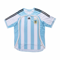 Argentina Retro Soccer Jersey Home Replica World Cup 2006