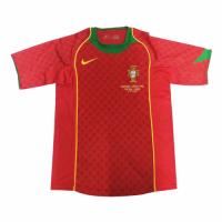 Portugal Retro Soccer Jersey Home Replica Euro Cup 2004