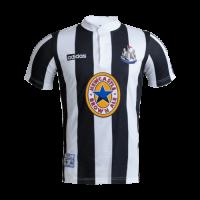 95/97 Newcastle United Home Black&White Retro Soccer Jerseys Shirt