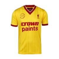 Liverpool Retro Soccer Jersey Away Replica 1985/86