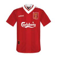 Liverpool Retro Soccer Jersey Home Replica 1995/96