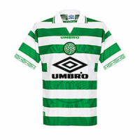 98/99 Celtic Home Green&White Retro Soccer Jerseys Shirt