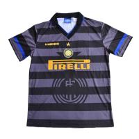 Inter Milan Retro Soccer Jersey Europa League Away Replica 1997/98