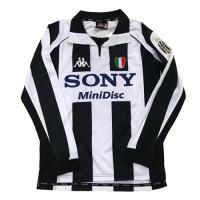 Juventus Retro Soccer Jersey Home Long Sleeve Replica 1997/98