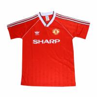 Manchester United Retro Soccer Jersey Home Replica 1988/90