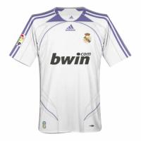 Real Madrid Retro Soccer Jersey Home Replica 2007/08