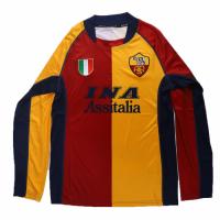 Roma Retro Soccer Jersey Third Away Long Sleeve Replica 2001/02