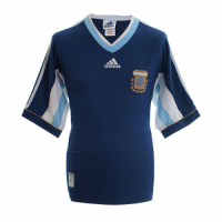 Argentina Retro Soccer Jersey Away Replica World Cup 1998