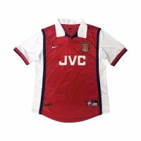 Arsenal Soccer Jersey Home Retro Replica 1998/99