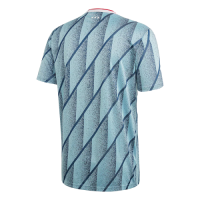 20/21 Ajax Away Blue Soccer Jerseys Shirt