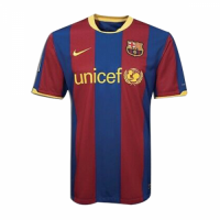 Barcelona Soccer Jersey Home Retro Replica 2010/11